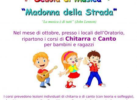 """Scuola di Musica per Bambini """"Madonna della Strada"""""""