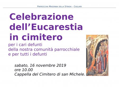 Messa in cimitero 16 novembre 2019